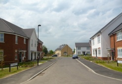 Walford Way Housing Development in Coggeshall
