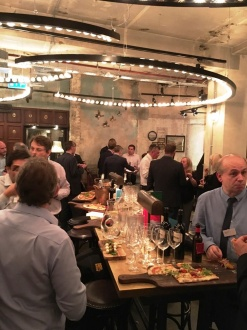 London Office Client Reception at Flight Club