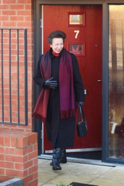 The Royal Seal of Approval! Princess Anne Attends the Official Opening of Perry Barn Close