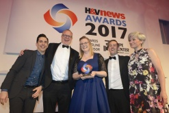 Ingleton Wood at the H&V News Awards