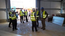 James Cleverly MP attends site at our project at Swinborne Drive, Braintree, Essex