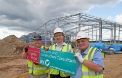 Ingleton Wood begins construction of 10 new warehouse units at Hainault Works