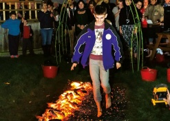 Fundraisers urged to hot foot it for sponsored firewalk hosted by Ingleton Wood