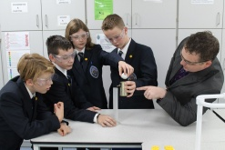 Hertfordshire school opens doors to state of the art science lab