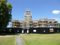 £450k refurbishment project on track at Grade I listed Bruce Castle