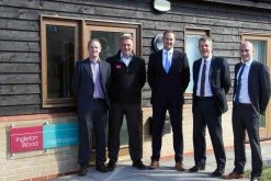 Ingleton Wood invests in future with four promotions for Cambridge office