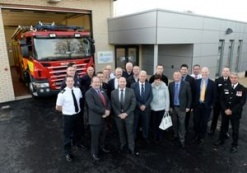 The Official Opening of Burwell Fire Station