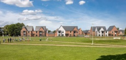 Ingleton Wood helps win planning permission for 38 affordable homes at former Stowmarket Middle School site