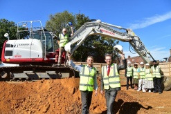 Ground-breaking begins on new community centre in Billericay