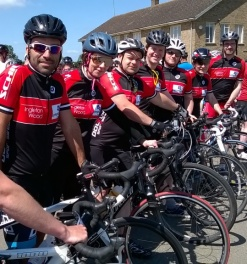 Ingleton Wood Complete the Cambridgeshire Gran Fondo in Aid of Lymphoma Association