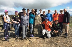 Ingleton Wood Again take on the Yorkshire Three Peaks for WaterAid