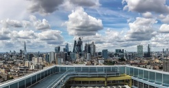 East London from above – striking photos from hospital helipad capture incredible views as we start work on a project