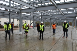 Saint George's School in Gravesend marks £5m construction milestone